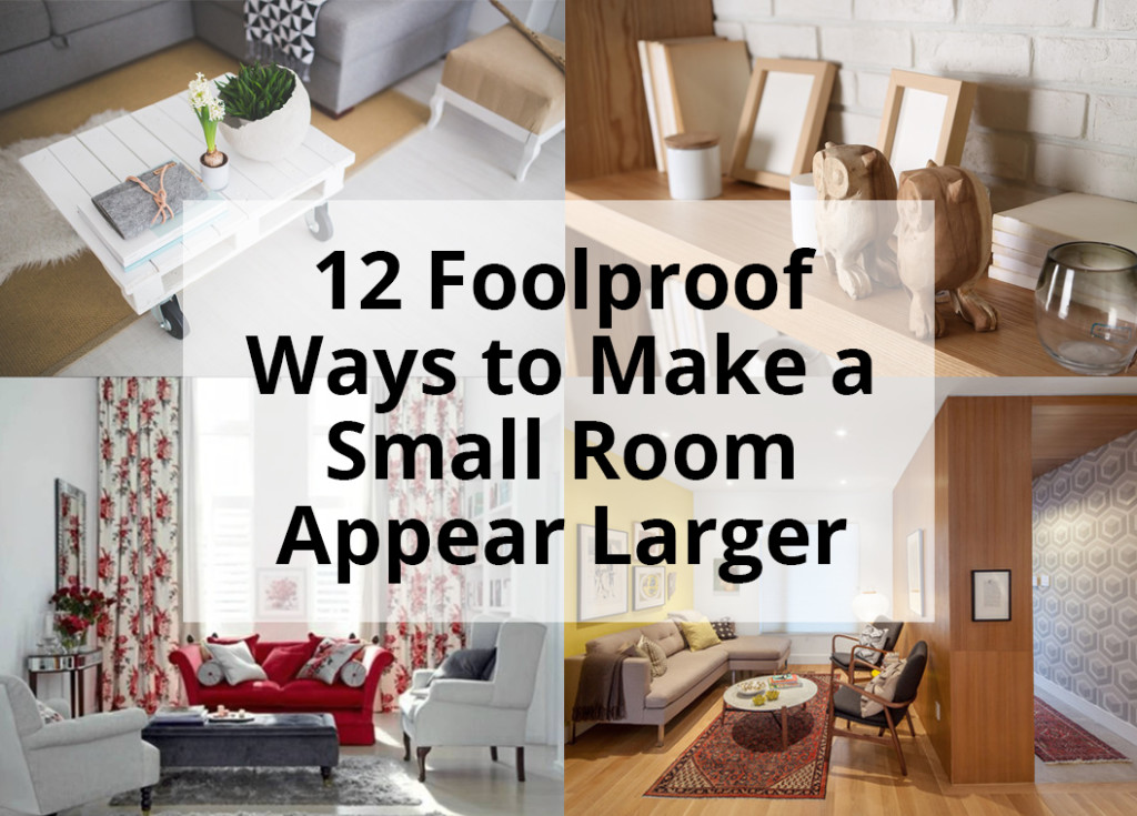 12 foolproof ways to make a small room appear larger hero image